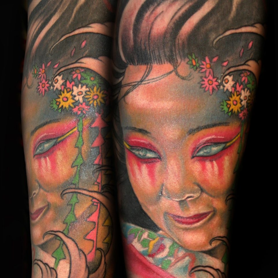 Jason Adkins- Geisha girl face 8 x 10 300 dpi