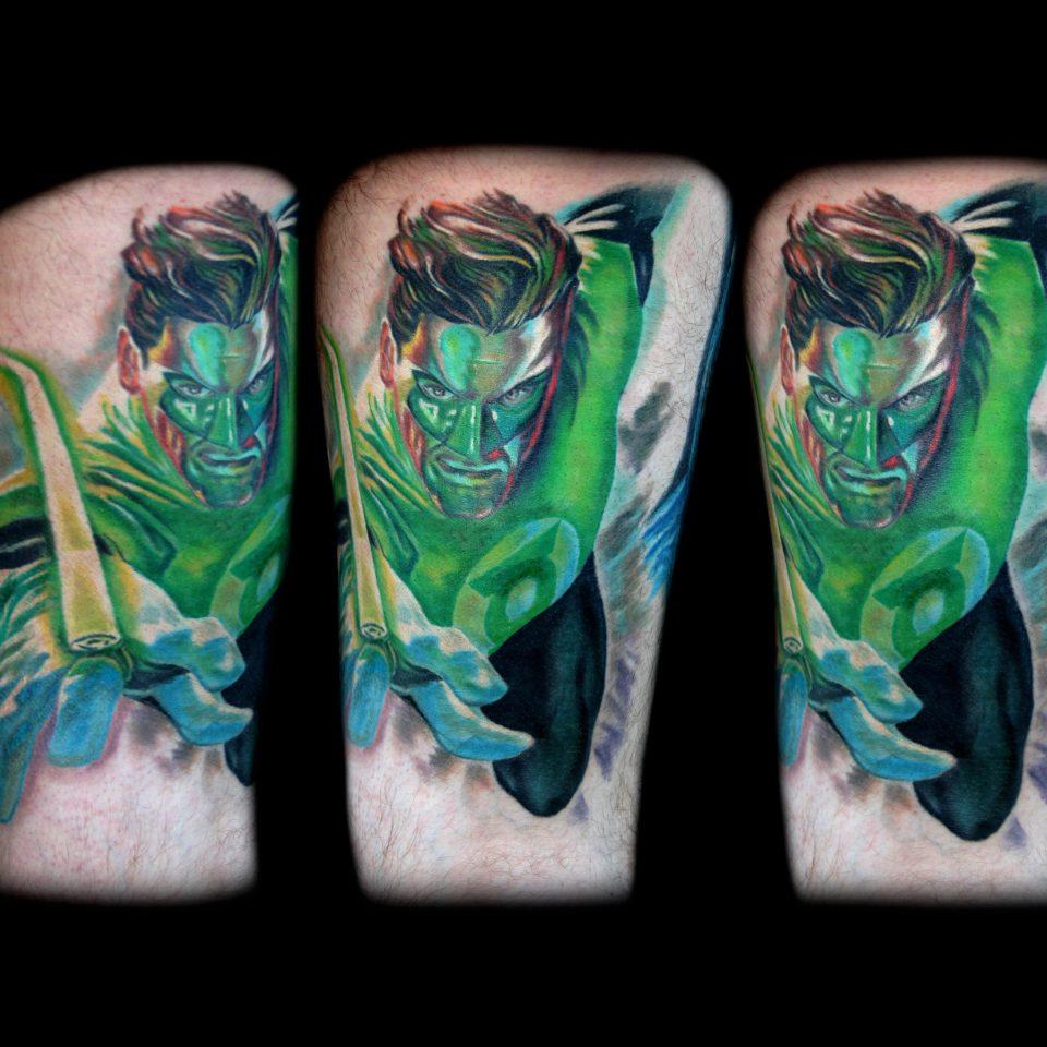 Jason Adkins – Green Lantaren-8×10 300 2