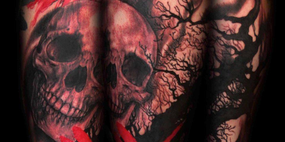 Jason Adkins-Skull-Dragon fly sketch style 8×10 300 dpi
